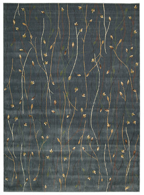 "Nourison Area Rug, Cambridge CG04 Blue 9' 6"" x 13'"