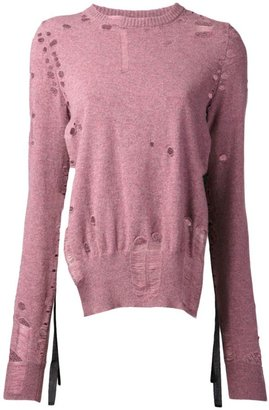 Maison Martin Margiela distressed sweater
