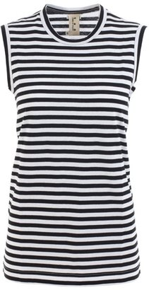 Comme des Garcons TAO Striped tank