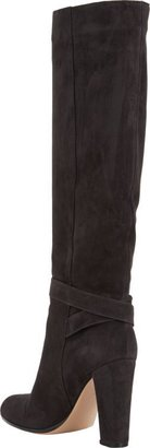 Gianvito Rossi Perry Knee Boots-Grey