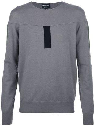 Giorgio Armani jersey sweater