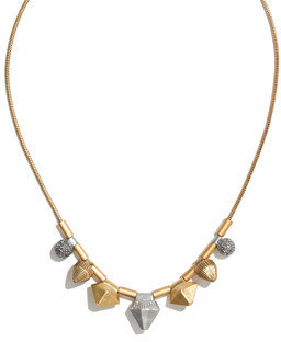 Madewell Etched Metalwork Necklace