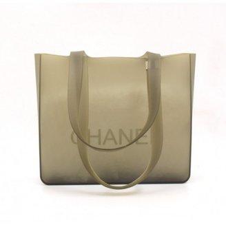 Louis Vuitton very good (VG) Chanel Gray Rubber CC Handbag