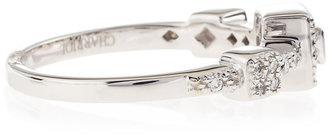 Charriol Three-Station Diamond Pave Ring, Size 6.5