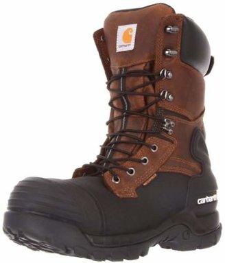 "Carhartt Men's 10"" Waterproof Insulated PAC Composite Toe Boot CMC1259"