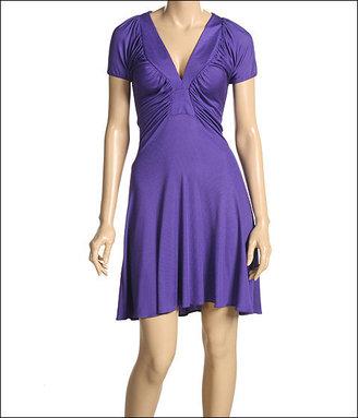 Just Cavalli Ribbed Jersey Dress