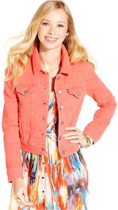 Levi's Jacket, Trucker Denim Colored-Wash