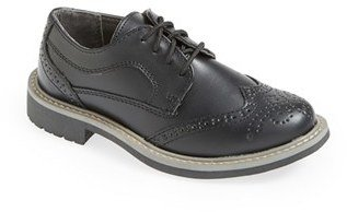 Boy's Reaction Kenneth Cole 'Take Fair' Wingtip Oxford $50 thestylecure.com