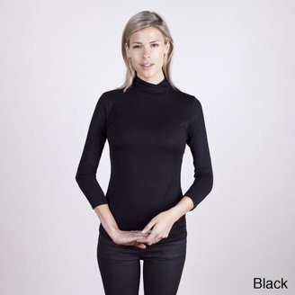 Colour Works Women's Crossover 3/4 Sleeve Pullover $29.49 thestylecure.com