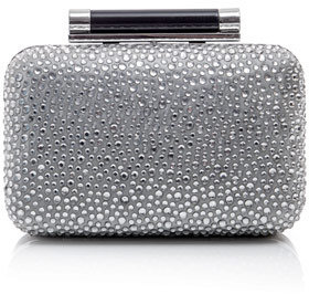 Diane von Furstenberg Small Tonda box clutch