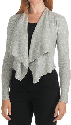 Lauren Hansen Cashmere Cardigan Sweater - Open Front (For Women)