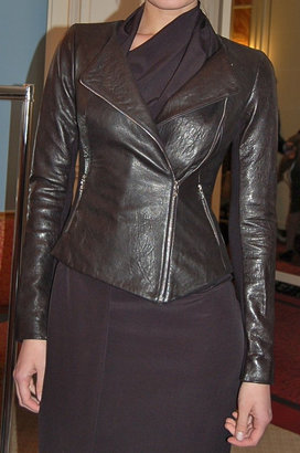 Willow Core Leather Jacket Blk