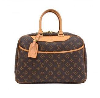 Louis Vuitton excellent (EX Deauville Monogram Canvas Hand Bag