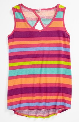 Splendid 'Carnival Stripe' Tank Top (Big Girls)