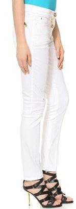 Versace Moto Skinny Jeans