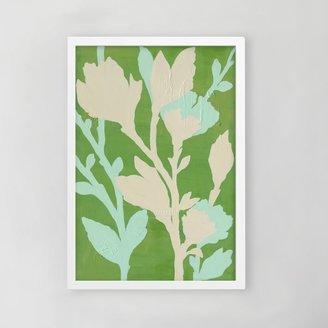 west elm Framed Print - Branch in Bloom II