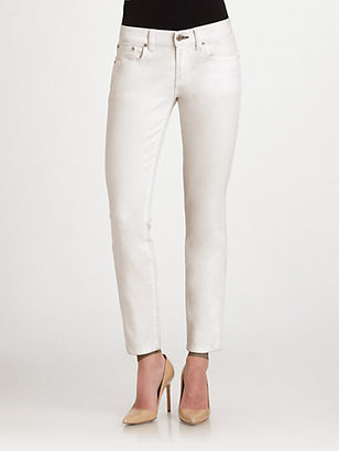 Ralph Lauren Black Label 400 Cropped Matchstick Jeans