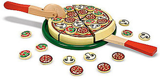 Melissa & Doug Wooden Pizza Party Play Food