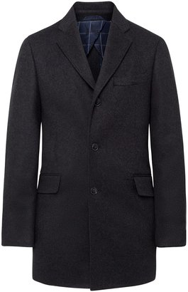 Hackett Wool And Cashmere Coat