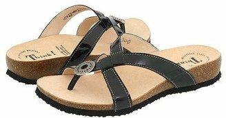 Think! Julia - 82767 (Black Patent) Women's Sandals