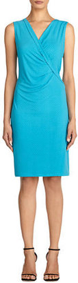Jones New York V Neck Sheath Dress