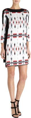 ICB Mirrored Ink Blot Print Dress