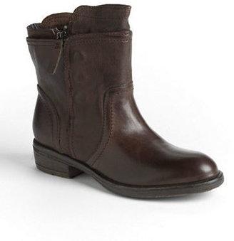 Vera Wang Ozita Leather Moto Boots