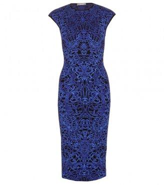 Alexander McQueen INTARSIA KNIT DRESS
