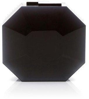 Rauwolf Octagon Cut Gemstone Clutch Black