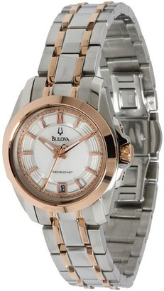 Bulova Ladies - 98M106 (Stainless Steel/Rose Gold/Mother of Pearl) - Jewelry
