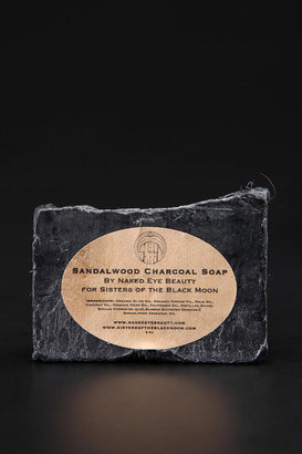 Urban Outfitters Sisters of the Black Moon Sandalwood Charcoal Soap