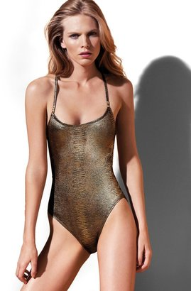 Vince Camuto Crossback Swimsuit