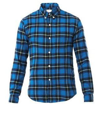 Band Of Outsiders Check flannel shirt