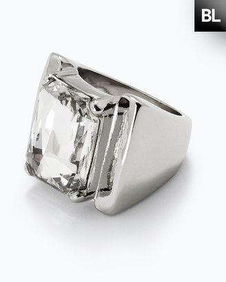 Chico's Black Label Crystal Ring