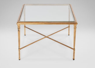 Ethan Allen Rectangular Heron Coffee Table