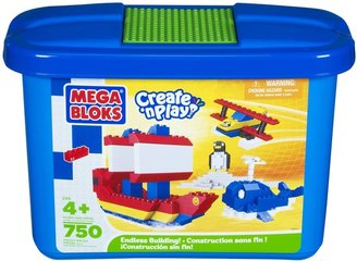 Mega Bloks Create 'n Play Junior Micro Tub Value Generic