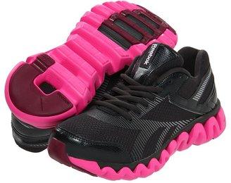 Reebok ZigLite Electrify (Gravel/Dynamic Pink/Classic Burgundy) - Footwear