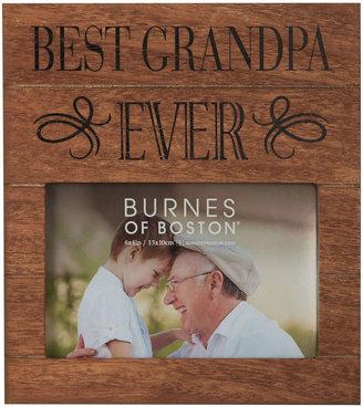 Asstd National Brand Burnes of Boston Best Grandpa Ever 4x6 Frame