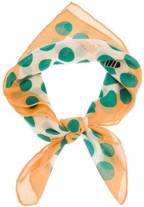 Sonia Rykiel Sonia By 'Carre' square dot scarf