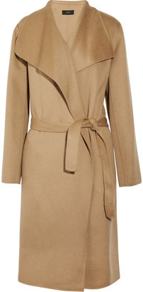 Joseph Lisa belted wool and cashmere-blend coat