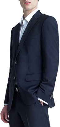 HUGO BOSS Basic Two-Button Suit, Navy