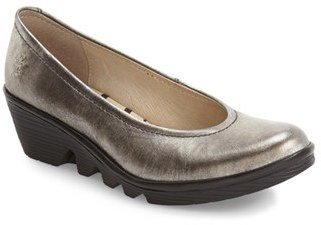 Women's Fly London Mid Wedge Pump $184.95 thestylecure.com