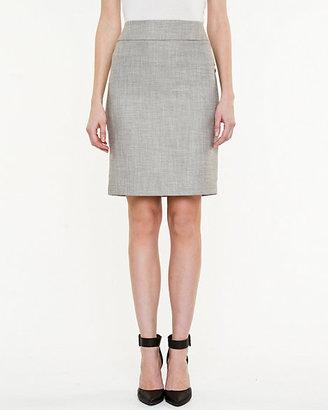 Le Château Woven Pencil Skirt