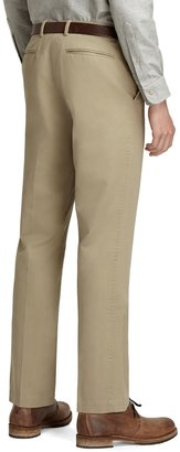 Brooks Brothers Plain-Front Vintage Chinos