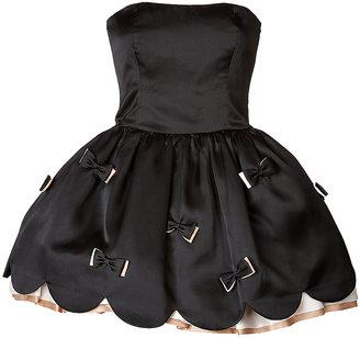 RED Valentino Silk Bow Dress