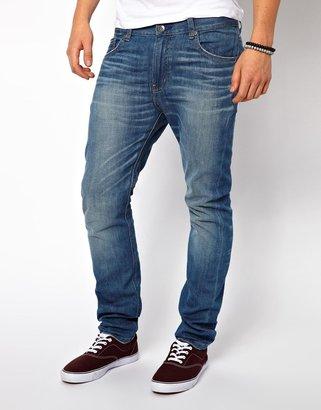 Wesc Jeans Eddy Slim Fit Mid Shade Wash