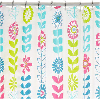 JCPenney Maytex Mills Floral PEVA Shower Curtain
