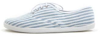 American Apparel Unisex Striped Tennis Shoe