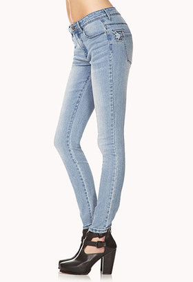Forever 21 Out West Skinny Jeans