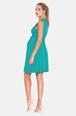 Olian Women's Sleeveless Maternity Dress